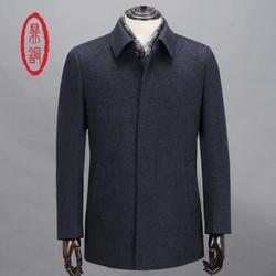 纯羊绒大衣男款|山东纯羊绒大衣|鼎铜服饰(图)图片