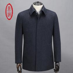 鼎铜服饰-纯羊绒大衣-新款纯羊绒大衣图片