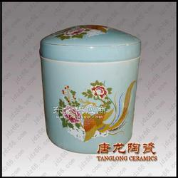 供应大量陶瓷骨灰坛 陶瓷骨灰盒厂家图片