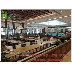 茶餐厅桌椅厂家直销 量身定制西餐厅桌椅 中高档餐厅桌椅首选厂家图片