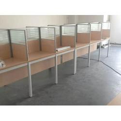 森成办公家具(图)、屏风办公桌生产厂家、屏风办公桌图片