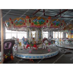 豪华旋转木马、旋转木马、玉鑫儿童游乐设备图片