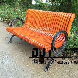 压铸铸铁实木公园椅 长条公园休息排椅园林椅 菠萝格户外休闲椅 小区别墅地产公共场所景观座椅3502图片
