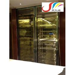 不锈钢酒柜-大型恒温酒柜-酒吧不锈钢温酒柜图片