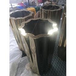 不锈钢花盆定制(多图)|不锈钢花盆来图|不锈钢花盆图片