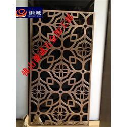 不锈钢屏风-拉丝玫瑰金不锈钢屏风-郑州不锈钢屏风加工厂图片