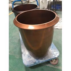 不锈钢花盆镀铜 不锈钢花盆 不锈钢花盆花盒图片