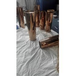 不锈钢花盆、不锈钢花盆镀铜、不锈钢花盆装饰图片