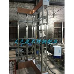不锈钢酒柜,厂家不锈钢酒柜,酒吧会所不锈钢酒柜图片