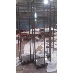 不锈钢展示架、不锈钢展示架落地(在线咨询)、不锈钢展示架双面图片