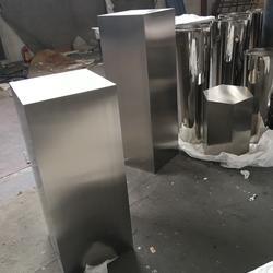 不锈钢花盆、不锈钢花盆厂家、不锈钢花盆交货期图片