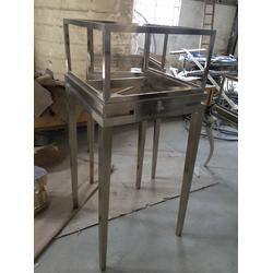 不锈钢展示架双面、不锈钢展示架、定做不锈钢展示架(图)图片