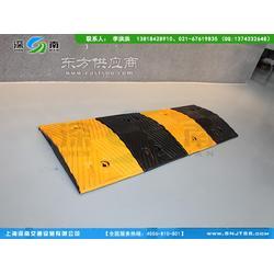 橡胶车辆橡胶减速带 橡胶减速板 剑河县哪里的橡胶减速板便宜图片