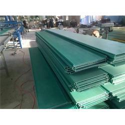 玻璃钢电缆槽材质轻、复合材料玻璃钢桥架、电缆槽图片