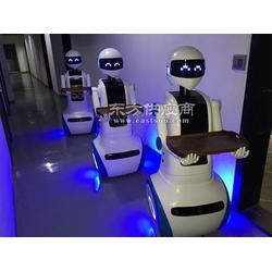 智能机器人送餐机器人服务图图片