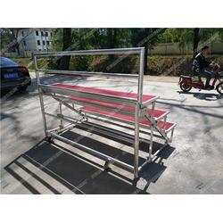 定做合唱台尺寸2米长歌唱排练台护栏合唱台图片