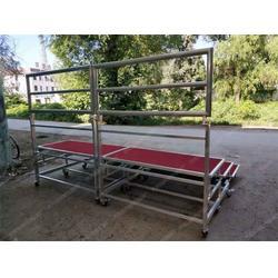 定做小型合唱台观众席拼装组合台阶铝合金合唱台图片