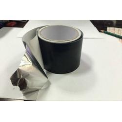 南京黑色铝箔胶带|江阴巨人建材|黑色铝箔胶带出厂价图片