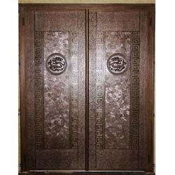 云南庭院铸铝门供应商、云南庭院铸铝门、相府装饰工程(图)图片