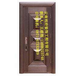 别墅铜门经销商-云南铜门安装-别墅铜门图片