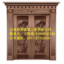昆明别墅铜门|相府装饰工程|昆明别墅铜门上门服务图片