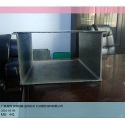 玻璃钢电缆槽、玻璃钢电缆槽、兴业复合材料(查看)图片
