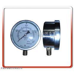 供应100mm径向耐震充油微压表图片