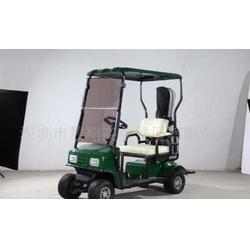 单座电瓶高尔夫球车图片