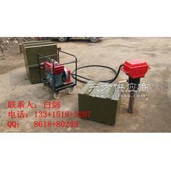 防汛打桩机生产厂家哪里有防汛柴油打桩机的图片