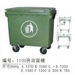 垃圾桶-苏州德成塑料-垃圾桶哪家好图片