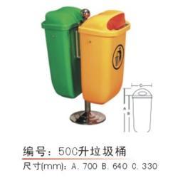 塑料垃圾桶厂家-苏州垃圾桶-苏州德成图片