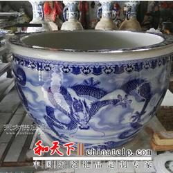 一米陶瓷大缸 陶瓷大缸厂家 一米一陶瓷大缸定制厂家图片