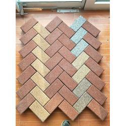 广聚建材、生产透水砖、透水砖图片