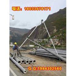 供应15米线杆三脚立杆器 三日达图片