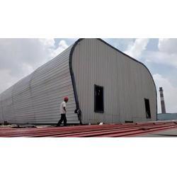 轻型钢结构厂房通风天窗-永业通风设备销售-嘉峪关通风天窗图片