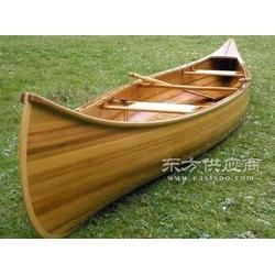 出售欧式手划木船皮筏艇比赛木船竞技船图片