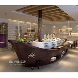供應餐飲裝飾船壽司擺放船歐式木船自助餐擺設船圖片