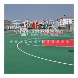 塑胶篮球场网球场羽毛球场上门施工厂家电话图片