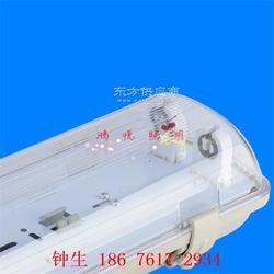 电子车间LED工厂三防灯具防尘不易发黄阻燃T5T8LED三防灯外壳套件图片