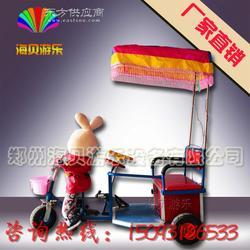 小兔子蹬车 机器人蹬三轮车 小洋人拉车厂家直销 机器人蹬三轮车 广场充气城堡图片