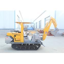 好厂家属泰安山立机械(图)|小型挖掘机公司|小型挖掘机图片