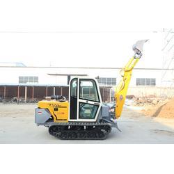 小型挖掘装载机、挖掘装载机、泰安山立厂家供货图片