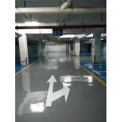 停车场地坪漆|英德市专业耐磨停车场地坪漆|万顺达地坪漆图片