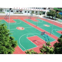 湛江市承接各种球场地坪经久耐磨|万顺达地坪漆|球场地坪图片