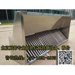 中餐饭店油烟处理设备-单位食堂排烟改造-低空油烟净化器安装图片