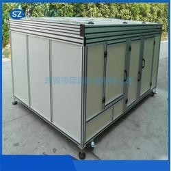 龙岗区铝型材机箱机柜_舜德机械_铝型材机箱机柜生产图片