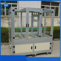 铝型材机箱机柜订制-琪德钣金-宝安区铝型材机箱机柜图片