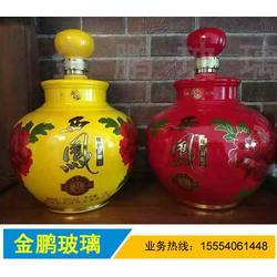 太仓酒瓶厂家_酒瓶厂家_山东郓城金鹏玻璃(查看)图片