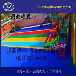 拼装式篮球场耐磨防滑悬浮地板厂家供应图片