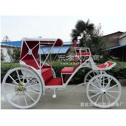 旅游观光马车YC-A0014b 白色欧式马车、婚庆摄影马车、仿古马车图片